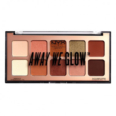 AWAY WE GLOW SHADOW PALETTE - HOOKED ON GLW