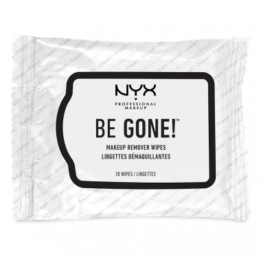BE GONE MAKEUP REMOVER WIPES