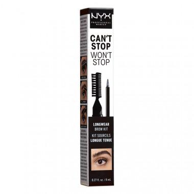 CSWS LONGWEAR BROW INK KIT-BLACK