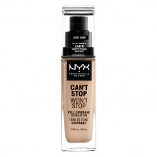 CAN'T STOP WON'T STOP 24HOUR FOUNDATION - LIGHT IVORY