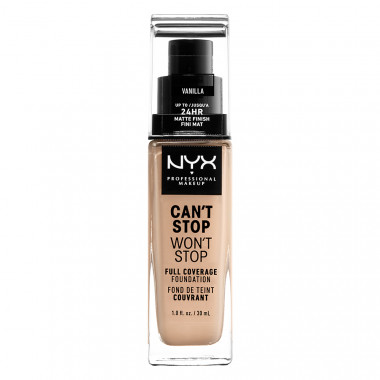 CAN'T STOP WON'T STOP 24HOUR FOUNDATION - VANILLA