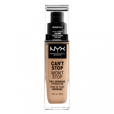 CAN'T STOP WON'T STOP 24HOUR FOUNDATION - MEDIUM OLIVE