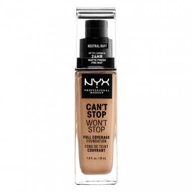 CAN'T STOP WON'T STOP 24HOUR FOUNDATION - NEUTRAL BUFF