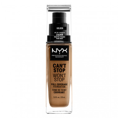 CAN'T STOP WON'T STOP 24HOUR FOUNDATION - GOLDEN