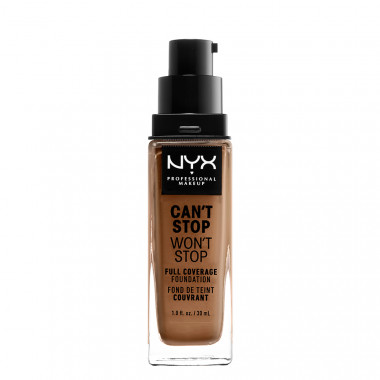 CAN'T STOP WON'T STOP 24HOUR FOUNDATION - MAHOGANY
