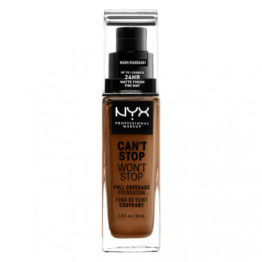 CAN'T STOP WON'T STOP 24HOUR FOUNDATION - WARM MAHOGANY