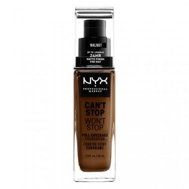 CAN'T STOP WON'T STOP 24HOUR FOUNDATION - WALNUT