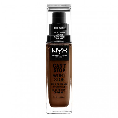 CAN'T STOP WON'T STOP 24HOUR FOUNDATION - DEEP WALNUT
