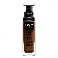 CAN'T STOP WON'T STOP 24HOUR FOUNDATION - CHESTNUT