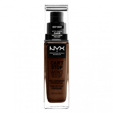 CAN'T STOP WON'T STOP 24HOUR FOUNDATION - DEEP EBONY