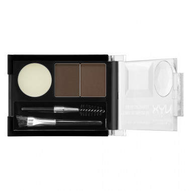 EYEBROW CAKE POWDER - DARK BROWN/ BROWN