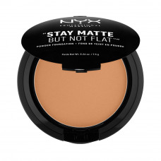 STAY MATTE BUT NOT FLAT POWDER FOUNDATION - CHESTNUT