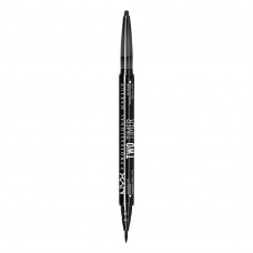 TWO TIMER - DUAL ENDED EYELINER - JET BLACK