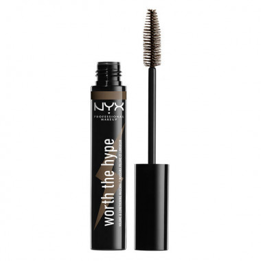 WORTH THE HYPE MASCARA - BROWNISH BLK